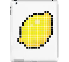 8 bit pixel lemon iPad Case/Skin