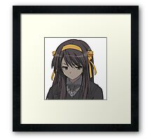 Anime Cosplay Framed Print