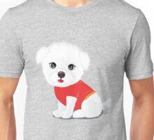Bichon frise dog Unisex T-Shirt