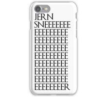 Jon Snow (Jern Sner) iPhone Case/Skin