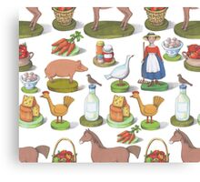 Happy Farm Canvas Print