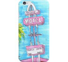 Motel Monterey iPhone Case/Skin