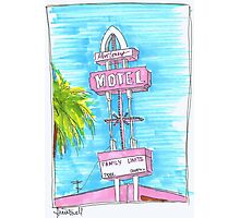 Motel Monterey Photographic Print
