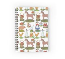 Happy Farm Spiral Notebook