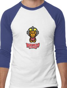 Milo Ultraman Men's Baseball ¾ T-Shirt