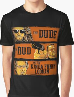 The Dude, the Bud and the Kinda Funny Lookin' Graphic T-Shirt