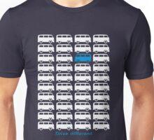 Drive different - Bus (white) Unisex T-Shirt