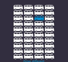 Drive different - Bus (white) Unisex T-Shirt