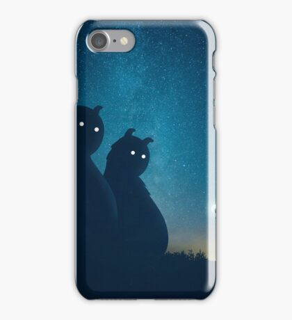 The Gift (blue) iPhone Case/Skin