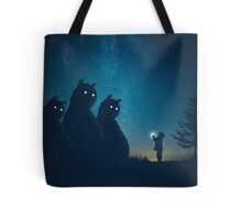 The Gift (blue) Tote Bag