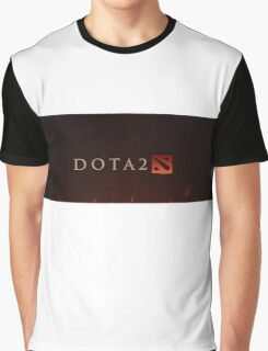 Dota 2 Logo Graphic T-Shirt