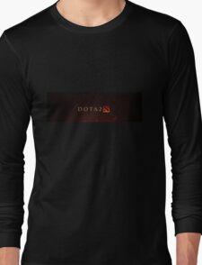 Dota 2 Logo Long Sleeve T-Shirt