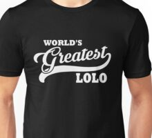 World's Greatest Lolo Unisex T-Shirt
