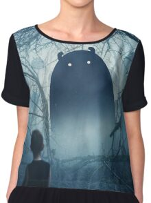 The Story begins Chiffon Top