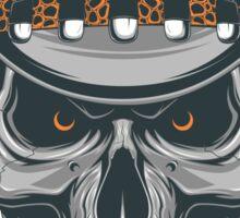Cowboy Skull Sticker