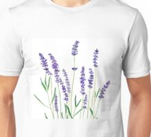 purple lavender  Unisex T-Shirt