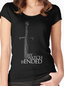 Game of Thrones - The end Women's Fitted Scoop T-Shirt