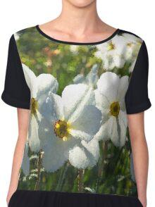 Poet Daffodils Dreams - Impressions Of Spring Chiffon Top