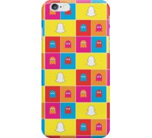 Ghosts of Past & Present - Tech Pattern iPhone Case/Skin
