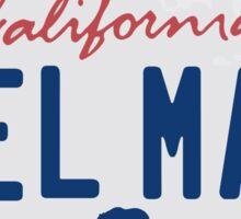 Del Mar - California. Sticker