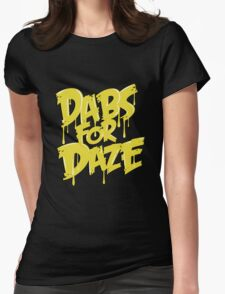 Dabs for Daze Womens Fitted T-Shirt