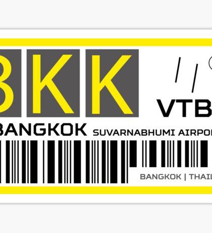 Destination Bangkok Airport Sticker