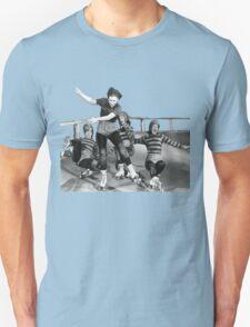 ROLLER DERBY VINTAGE GIRLS gerry murray T-Shirt
