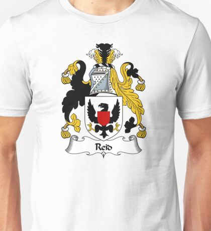 Reid Coat of Arms / Reid Family Crest Unisex T-Shirt