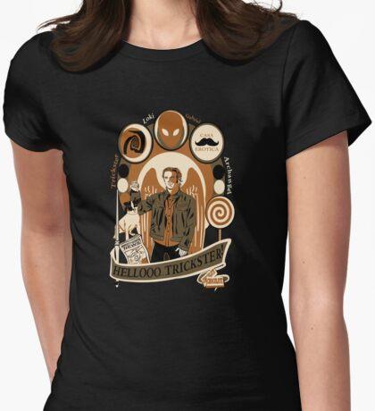 Archangel Gabriel Crest Womens Fitted T-Shirt