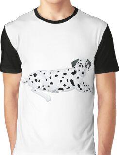 Dalmatian relaxing Graphic T-Shirt