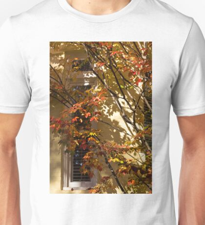 Shapes and Patterns - Enjoying the Colorful Leafs of Fall Unisex T-Shirt