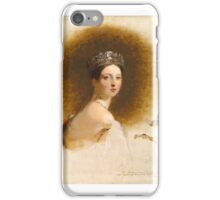 Queen Victoria ,  Thomas Sully iPhone Case/Skin
