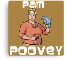 Pam Poovey - Iconic Pose Canvas Print