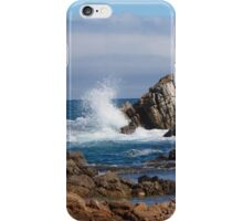 Sea and rocks iPhone Case/Skin