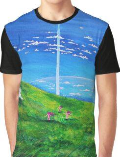 La tour au-delà des nuages (Beyond the Clouds) Graphic T-Shirt