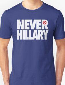 NEVER HILLARY - Alternate T-Shirt