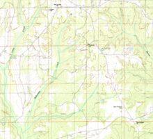 USGS TOPO Map Alabama AL White City 305383 1987 24000 Sticker