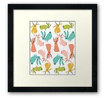 Jackalopes Framed Print