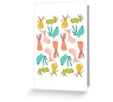 Jackalopes Greeting Card
