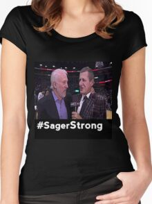 Stay Strong Sager Women's Fitted Scoop T-Shirt