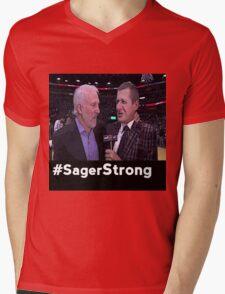 Stay Strong Sager Mens V-Neck T-Shirt