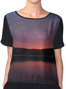 Colourful sunrise Chiffon Top