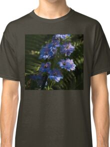 Larkspurs and Ferns - a Lush Summer Garden Classic T-Shirt
