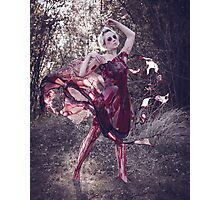 Blood Dress Photographic Print