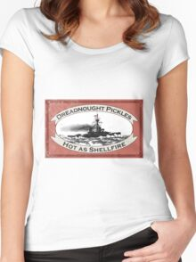Dreadnought Pickles Women's Fitted Scoop T-Shirt