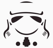 Stormtrooper so serious Kids Tee
