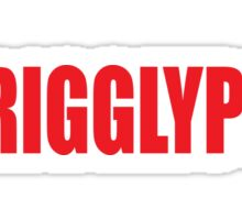 TrigglyPuff (Red) Sticker