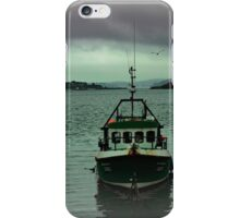 Cobh fishing boat iPhone Case/Skin