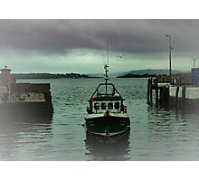 Cobh fishing boat Photographic Print