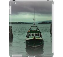 Cobh fishing boat iPad Case/Skin